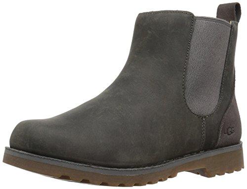 Ugg®- Callum Kinder Chelsea Boot Stiefelette Lammfell Winterstiefel 1017180, Grau (Charcoal), US 06/EUR 36