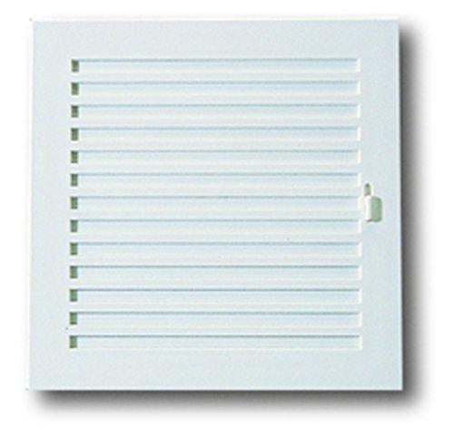 Anzapack 814330R - Rejilla Con Cierre 15X15 Cm. Plastico Blanco