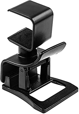 LeSB Mini Clip Mount for PlayStation 4 Camera Ps4 Sony adjustable TV Clip 360 Degrees by LeSB