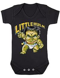 Little Hulk bebé chaleco Babygrow Babywear uno piezas), Hero Comics superhéroe Novelty Babywear
