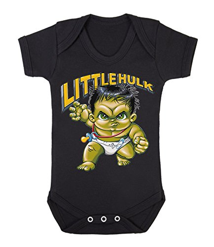 Little Hulk bebé chaleco Babygrow Babywear uno piezas), Hero Comics s