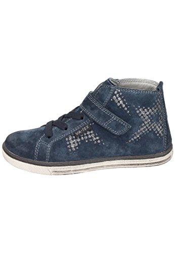 Vado Mädchen Midcut Sneaker Klett Blau