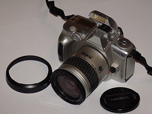 MINOLTA DYNAX 40 - silber - analoge Spiegelreflexkamera mit Objektiv MINOLTA AF ZOOM 28-80 mm 1:3.58(22)-5.6 Durchmesser 62 ## SLR CAMERA ## analoge Technik - getestet - funktioniert by LLL ##
