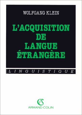 L'ACQUISITION DE LANGUE ETRANGERE