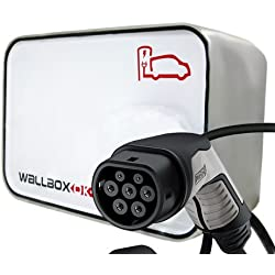 New Wallbox Punto Recarga Coche Eléctrico Tipo 2 (IEC 62196, Mennekes) 32A 400V 22kW Trifásico