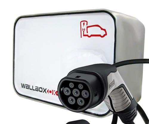 Preisvergleich Produktbild New Wallbox Elektrischer Autoladegerät Typ 2 (IEC 62196,  Mennekes) 16 V einphasig