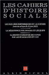Cahiers d'histoire sociale, numéro 22