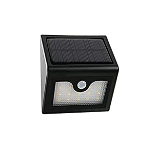 Solar LED Wall Lamp with Twilight Sensor and Movement 20LED with Autonomy 20Hours
