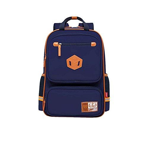 Rieovo Student Rucksack Kids Book Backpack Girls and Boys School Bag