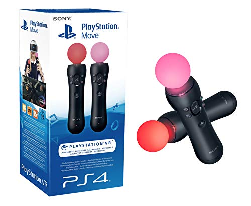 Playstation Move Twin 4.0, 2x PlayStation Move Motion Controller [PSVR PS4 PS3]