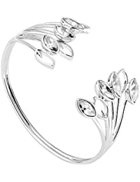 Ted Baker Viiola Silver Crystal Wisteria Cuff