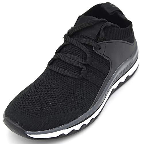 Armani Exchange Damen Turnschuhe Freizeitschuhe Sneaker Casual Synthetik XDX007 40 EU - 9M USA - 7 UK Nero Black