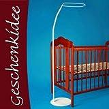 Himmelstange für Baby Bettchen Gitterbett Kinderbett mit Standfuß