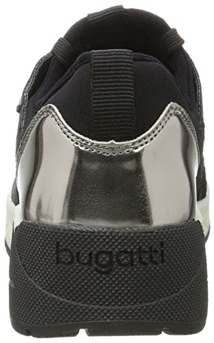 Bugatti 422277615000, chaussons d'intérieur femme Schwarz (Schwarz)