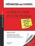 Préparation aux examens - Histoire du droit et des institutions...