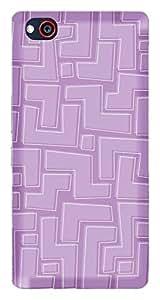 TrilMil Printed Designer Mobile Case Back Cover For ZTE Nubia Z9 Mini