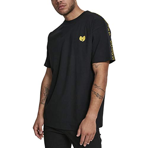 Wu Wear Herren Sidetape Tee T-Shirt, Black, 2XL