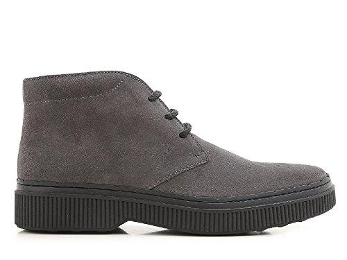 Tods Boots Homme en Peau Retournée Anthracite - Code Modèle: XXM39A00D80HSEB600 Anthracite