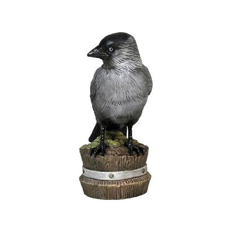Goebel 38473054 Decorative Figure Bird of the Year 2012: Jackdaw Small