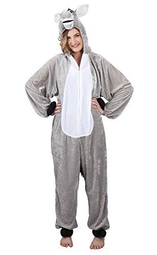 B88010-180 Kinder Damen Herren Esel Overall-Kostüm bis max.180 cm ()