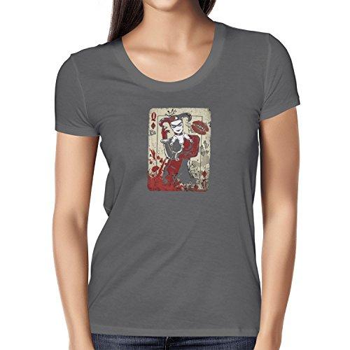 TEXLAB - Harley Queen - Damen T-Shirt, Größe M, (Kostüme Tshirt Neue Batman)