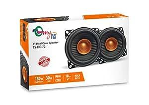 myTVS TS-DC-72 4 Inch Dual Cone Car Speakers 180W