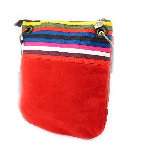 """Bolsa de hombro """"Desigual"""" multicolor."""