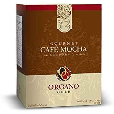 Organo Gold Gourmet Cafe Mocha - Café moca (mejorado con el hongo Ganoderma Lucidum)