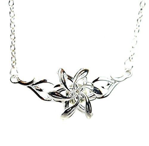 Elfen Königin Galadriel Silber Blume Halskette Herr der Ringe Der Hobbit LOTR inspiriert -