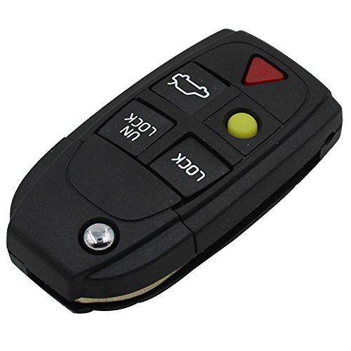 remote-key-case-fob-5-boton-sin-llave-clave-de-caso-remoto-de-llavero-caso-lamina-sin-cortar-para-vo