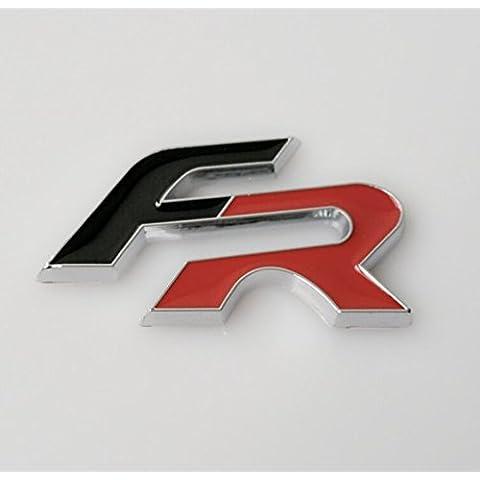 Para Seat fr Auto Emblema 3d nadadores etiqueta auto decoración pegatinas Styling Logo para Ibiza Leon Altea Ibe Toledo Exeo IBL