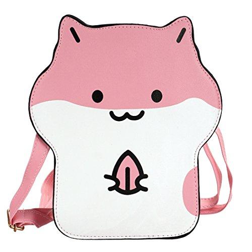 panische Hamster Handtasche, Rosa ()