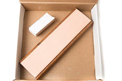bloc-en-cuir-203x-51cm-aiguisage-w-polissage-compos-et-revtement-transparent-teint-pieds-en-caoutcho