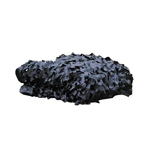 DYFYMXParasol Camouflage noir ingénierie couverture montagne décoration net aménagement paysager net ombrage filet anti-aérien net (Couleur : A, taille : 10 * 10m)