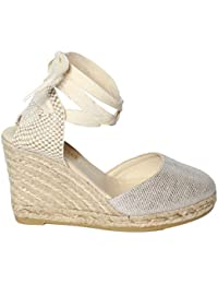 Espadrilles Scarpe Sandalo Donna Chiara Tex Natural Plata PE18 d94018d71e3
