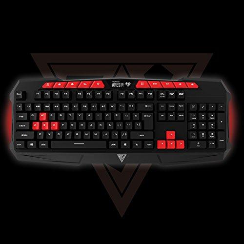 Gamdias ARES-GKC 100 Gaming (Membrane keyboard + mouse)