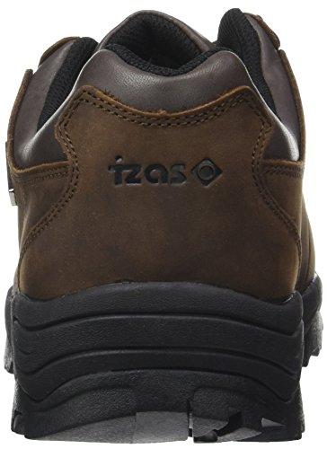IZAS Herren Schuhe leicht für Berg für Fons Brown