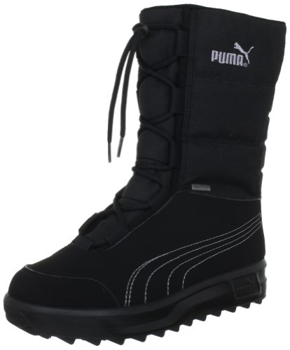 Puma Borrasca III GTX Jr, Unisex-Kinder Schneestiefel, Schwarz (black-gray dawn 01), 36 EU (3.5 Kinder UK)