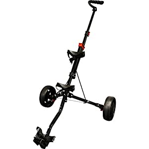Longridge Chariot Junior Acier Golf Noir