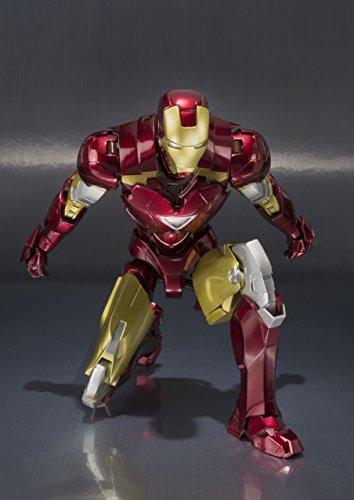 BANDAI-Iron Man MK Vi y Set Hall de Armaduras, Figura de (BAN14345) 2