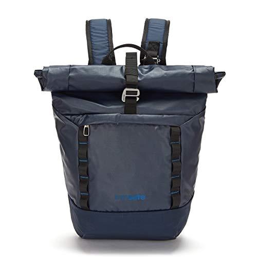 Pacsafe Dry Lite 30 L Rucksack, große wasserfester Wanderrucksack, Anti-Diebstahl Daypack, wasserresistente Tasche mit Diebstahlschutz, 30 Liter, Blau/Lakeside Blue