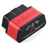 Escáner Bluetooth OBD2, OBDATOR, Lector de código de coche, herramienta de diagnóstico para coche, Comprobación de la luz del motor (idioma español no garantizado)