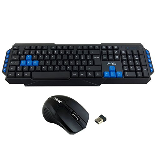 853859c9bd5 ScanFX WS880 Wireless Gaming Keyboard and 3 Button Mouse