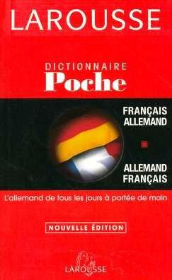 Dictionnaire de poche : Français-allemand ; allemand-français