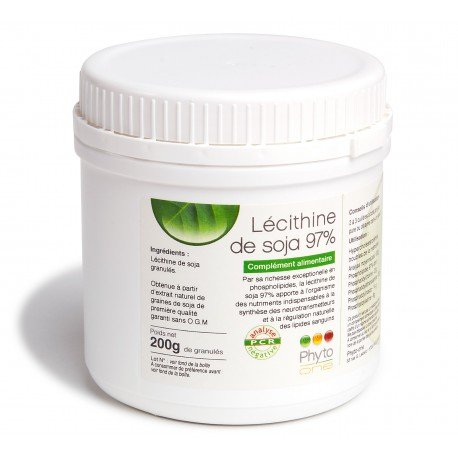 Phyto-one - Lécithine de soja 97%