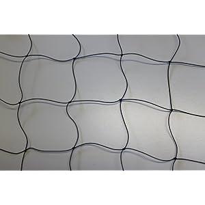 Geflügelzaun Geflügelnetz - schwarz - Masche 8 cm - Stärke: 1,2 mm - Größe: 0,80 m x 10 m