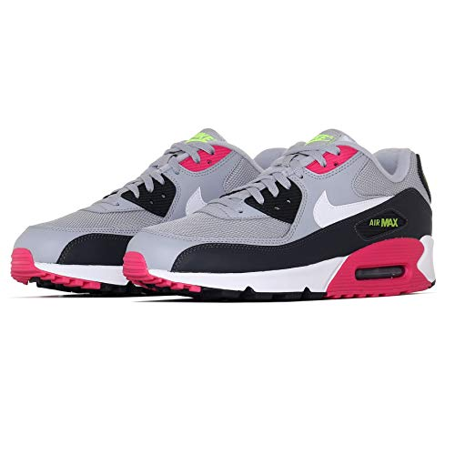 pretty nice 3f65d 8def7 Nike Air Max 90 Essential, Chaussures de Trail Homme, Multicolore (Wolf Grey