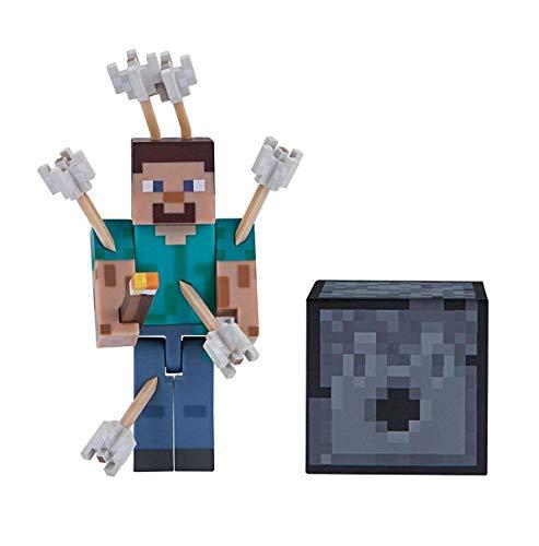 Minecraft MIN19971 19971 7,6 cm Action-Figur mit Pfeilen, Mehrfarbig, Multicolour