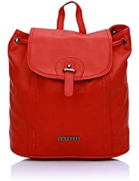 Caprese Evelyn Women's Shoulder Bag (Red)