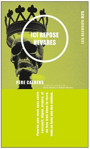 Ici repose Nevares : Et autres récits mexicains par Pere Calders
